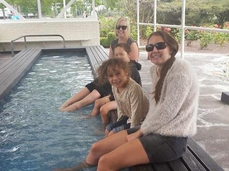 Foot Pools, Kuirau Park, Rotorua, New Zealand - The WIringi's Family Travel Blog