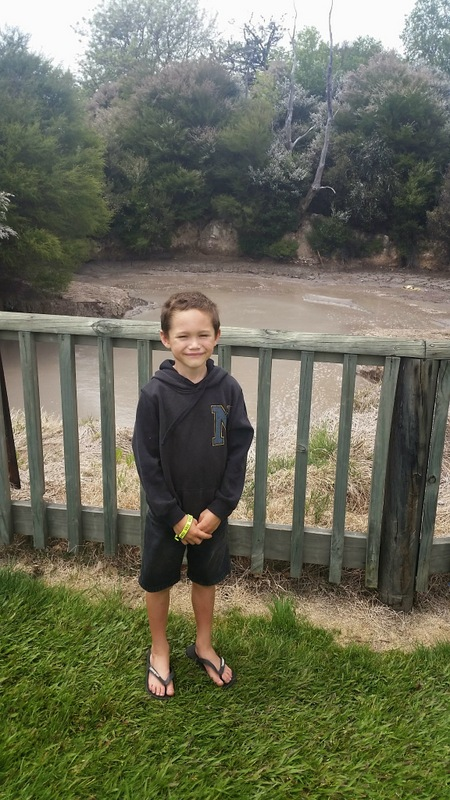 Mud pools, Kuirau Park, Rotorua, New Zealand - The WIringi's Family Travel Blog