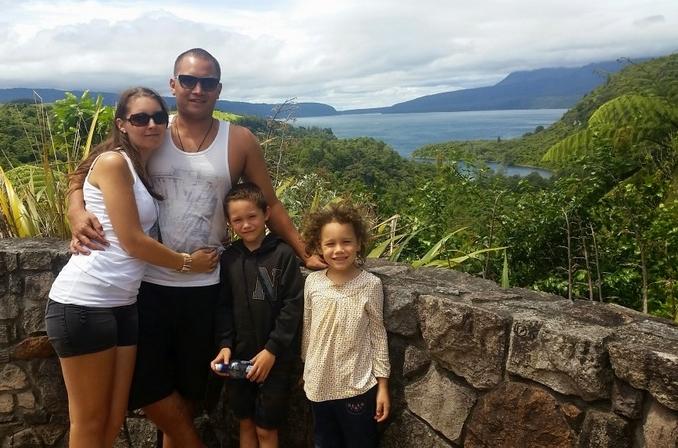 Lake Tarawera Lookout, Rotorua, New Zealand - The Wiringi's Family Travel Blog