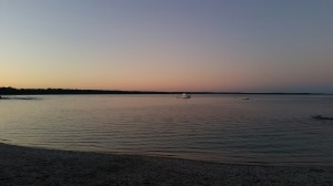 Sunset, Huskisson Beach, NSW, Australia - The Wiringi's Family Travel Blog